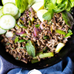 Keto Larb Pinterest Collage