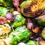 Keto Brussels Sprouts Pinterest Graphic