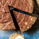 Keto Flourless Chocolate Torte Pinterest Graphic