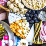 How to Build a Keto Cheese Board Pinterest Graphic