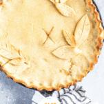 Keto Apple Pie Pinterest Collage