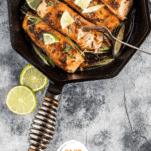 Keto Brown Sugar Glazed Salmon Pinterest Collage