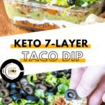Keto 7-Layer Taco Dip