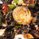 Keto Kung Pao Brussels Sprouts Pinterest Image