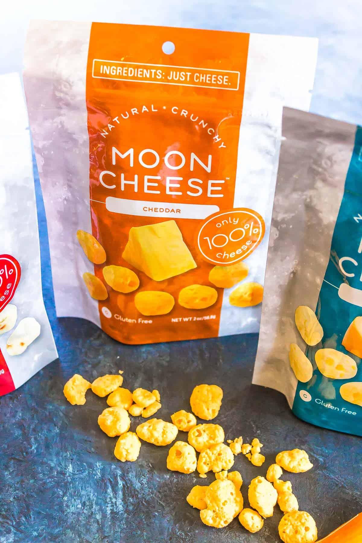Moon cheese packaging