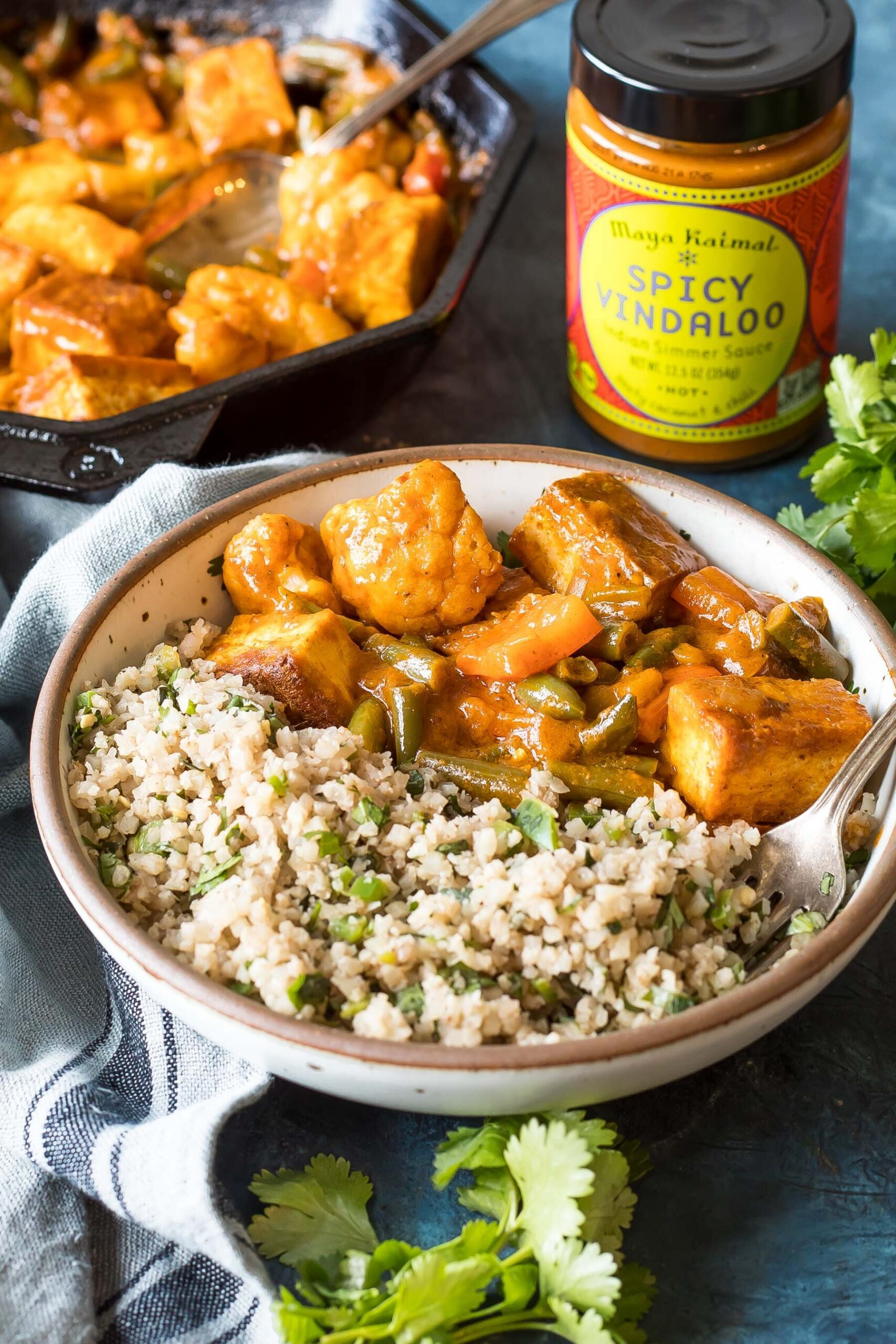 Easy Keto Vegan Tofu Vindaloo Recipe Cast Iron Keto