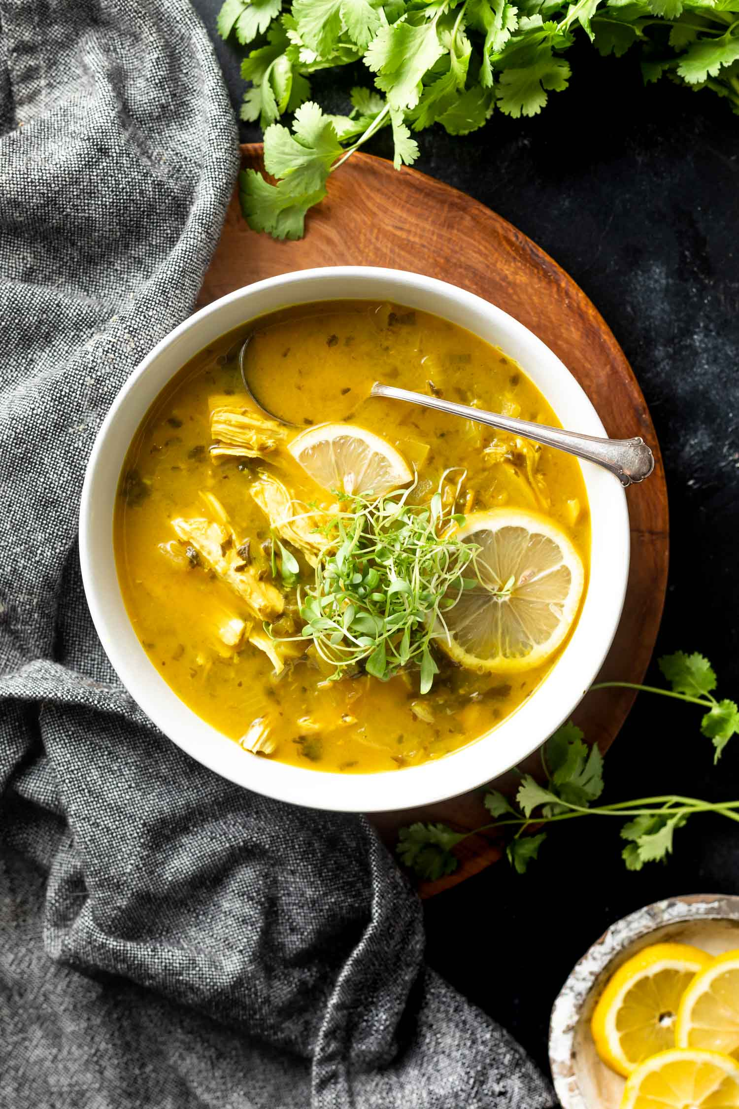 Turmeric Chicken Soup