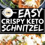 Keto Schnitzel Pinterest Graphic