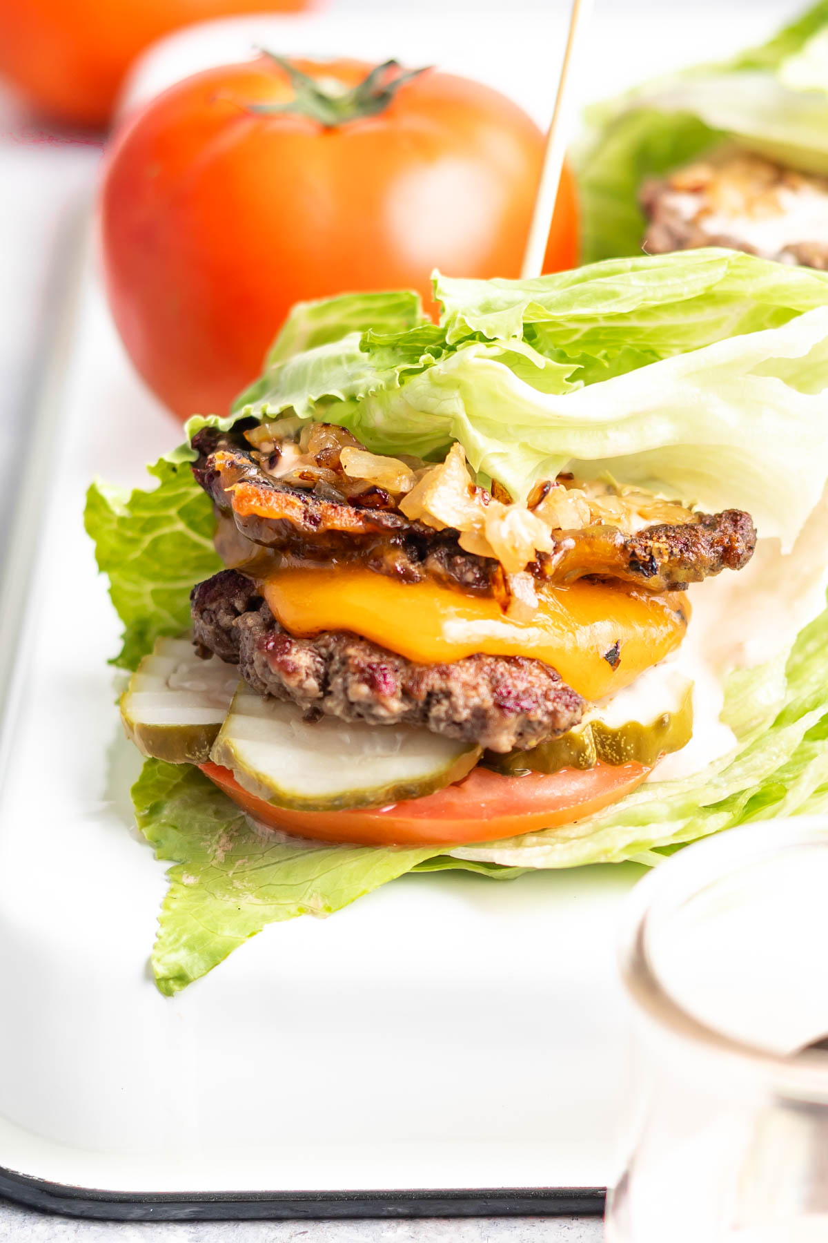 Keto Burger In N Out Style Recipe Cast Iron Keto