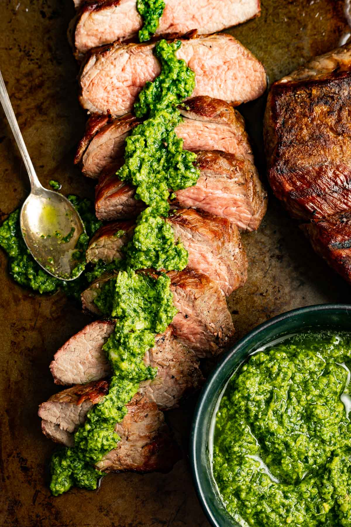 Tri Tip With Creamy Avocado Chimichurri Cast Iron Keto,Flat Iron Steak Cooked